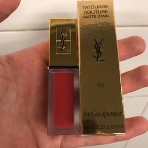 New in box Yves Saint Laurent matte red lip stain